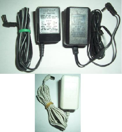 UNIDEN AD-600 AC ADAPTER 9Vdc 100mA -(+)- 120vac Used 1x POWER S