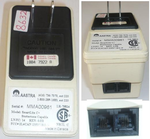 AASTRA ETHERNET ADAPTER INJECTOR USED POWER SUPPLY MMA00961 SMAR