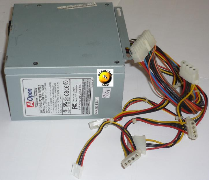 AOPEN FSP235-60GT SWITCHING POWER SUPPLY USED 235W +5V 22A E1618