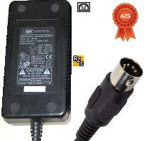 APX SP7970 AC Adapter 5vdc 5A 12V 2A -12v 0.8A 5Pin din 13mm Mal