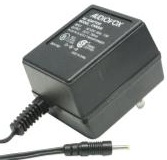 AUDIOVOX CNR505 AC ADAPTER 7VDC 700MA USED 1 x 2.4 x 9.5mm