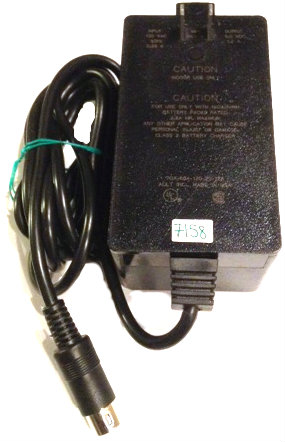 AULT 7CA-604-120-20-12A AC ADAPTER 6V DC 1.2A USED 5PIN DIN 13mm