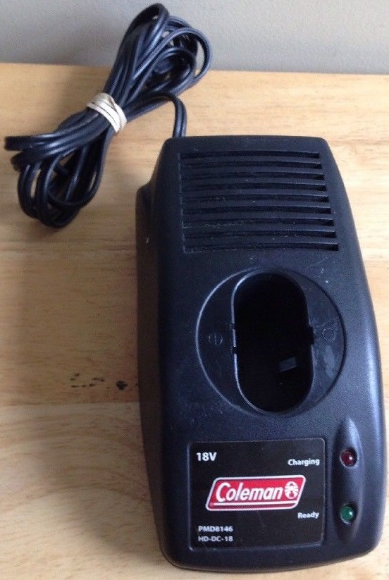 COLEMAN POWERMATE PMD8146 18V BATTERY CHARGER STATION ONLY HD-DC