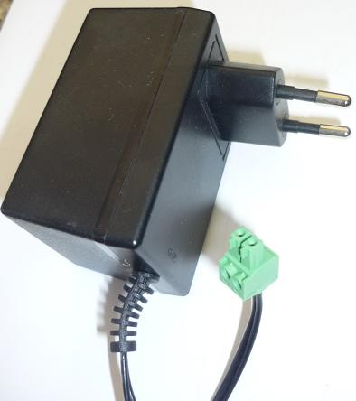 CONDOR A12100-230 AC ADAPTER 12VAC 1000mA USED ~(~) 2PIN EUROPE