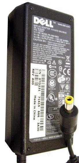 DELL PA-16 /PA16 AC ADAPTER 19V DC 3.16A 60Watts DESKTOP POWER
