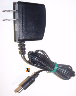 EBY EBACTN-76 AC ADAPTER USED 2.1x5x9.6mm STRAIGHT ROUND BARREL