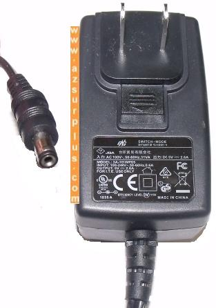 ENG 3A-163WP12 AC ADAPTER 12VDC 1.25A SWITCHING MODE POWER SUPPL