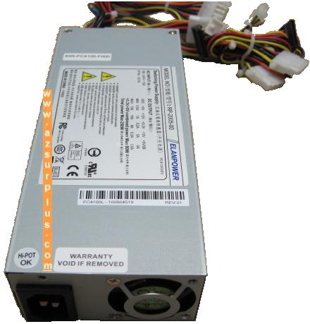 ELANPOWER RP-2005-00 250W SFF 20 PIN Power Supply ATX SATA Switc