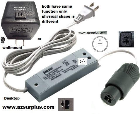 Finecom AZS9039 AA-060B-2 AC ADAPTER 12VAC 5A 2PIN DIN ~[ o | ]~