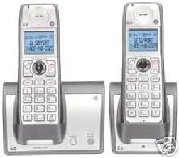 GE TC28223EE3-A Wireless HANDSET TWO CORDLESS Home Phone SYSTEM