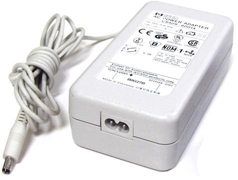 HP C6409-60014 AC ADAPTER 18VDC 1.1A -(+)- 2x5.5mm POWER SUPPLY