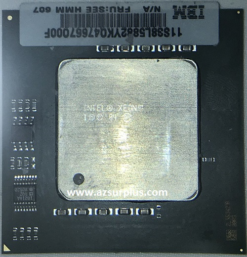 Intel SL8UN Xeon 3.66GHz 1MB 667MHz 1Mb Socket 604 CPU Used Co