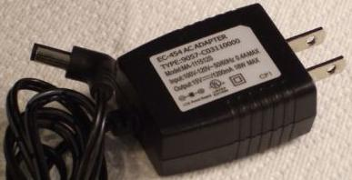 EC-454 MA-111512S AC ADAPTER 15VDC 1200mA POWER SUPPLY Charger
