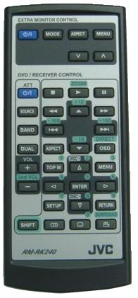 JVC RM-RK240 infrared Universal AV Programmable Remote Control