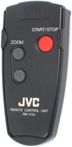 JVC RM-V3U infrared Remote Control 14 Buttons Used