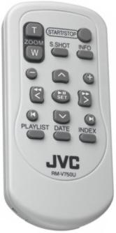 JVC RM-V750U infrared CAMCORDER Remote Control 16 Buttons Used