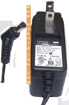 LINKSYS MT12-4120100-A1 AC ADAPTER 12V 1A CLASS 2 TRANSFORME