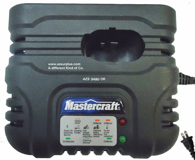 Mastercraft 223-M91 Battery Charger 12-18VDC Ni-Cd Nickel Cadmi