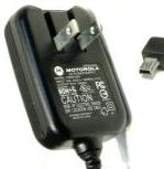 MOTOROLA PSM5185A CELL PHONE CHARGER 5VDC 550mA Mini USB AC ADAP