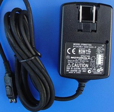 MOTOROLA PSM4716A AC POWER SUPPLY DC 4.4V 1.5A PHONE CHARGER SPN