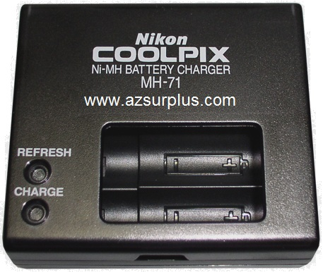 NIKON MH-71 Ni-MH BATTERY CHARGER 1.2VDC 1A X2 USED