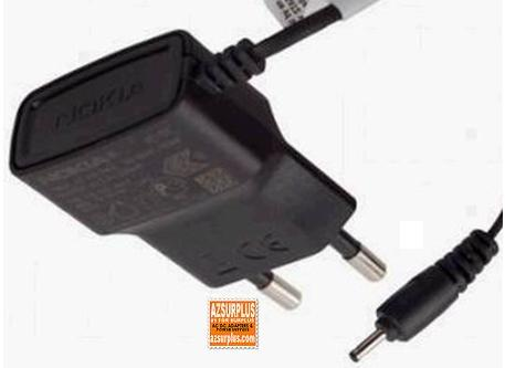 NOKIA AC-5E AC ADAPTER CELL PHONE CHARGER 5.0V 800mA EUOROPE VER