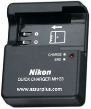 NIKON MH-23 AC ADAPTER 8.4Vdc 0.9A 100-240vac Battery Charger PO
