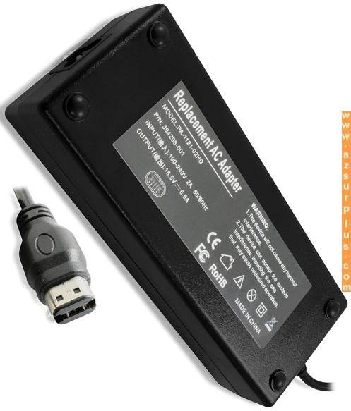PA-1121-02HD REPLACEMENT AC ADAPTER 18.5V 6.5A LAPTOP POWER SUPP
