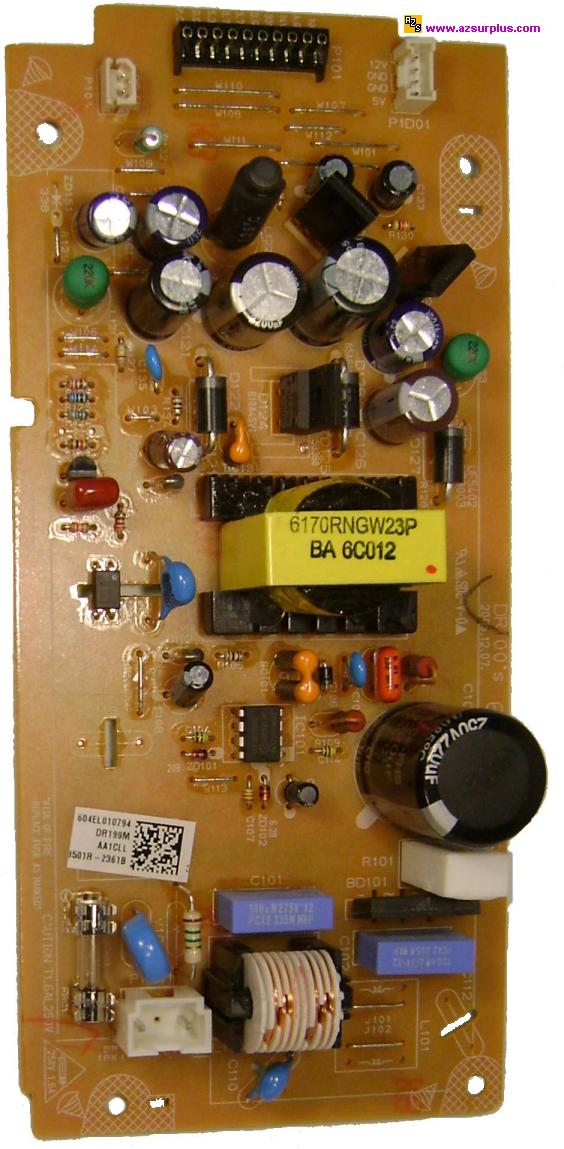 PHILIPS LG POWER SUPPLY BARE PCB 6870R2361HA FOR SUPER MULTI DVD