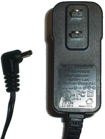 PS0526 AC ADAPTER +5V 2.5A 2.6A POWER SUPPLY
