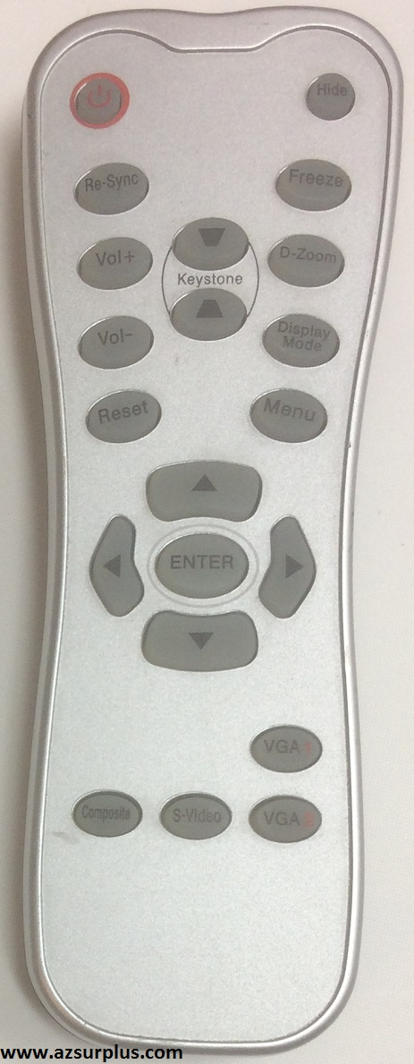 Parex 2411 Projector TV Remote Control Used Projector / TV Remo