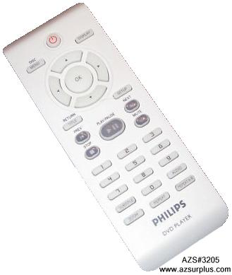 Philips 3141 0793 6321 INFRARED REMOTE CONTROL Off White & Gray