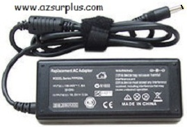 REPLACEMENT PA-1700-02 AC ADAPTER 19VDC 3.42A Used 2.7 x 5.5 x 1