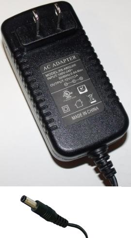 RS-AB02J00 AC ADAPTER 12VDC 2A USED -(+)- 2x5.5mm 100-240vac 2.1