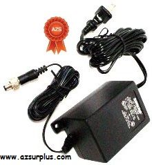 SHURE PS31 AD1540D-5LMT AC ADAPTER 15VDC 400mA Used -(+)- 2x5.5m