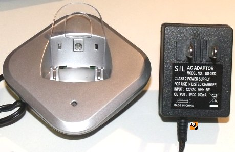 SIL UD-0902 AC ADAPTER 9VDC 150mA NEW CLASS 2 POWER SUPPLY 120V