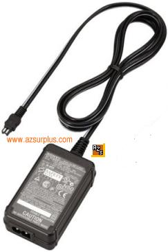 SONY AC-L200 AC ADAPTER 8.4VDC 1.7A CAMCORDER POWER SUPPLY