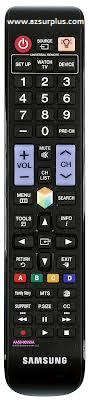 Samsung AA59-00559A Infrared Remote Control 48 Buttons Black LCD