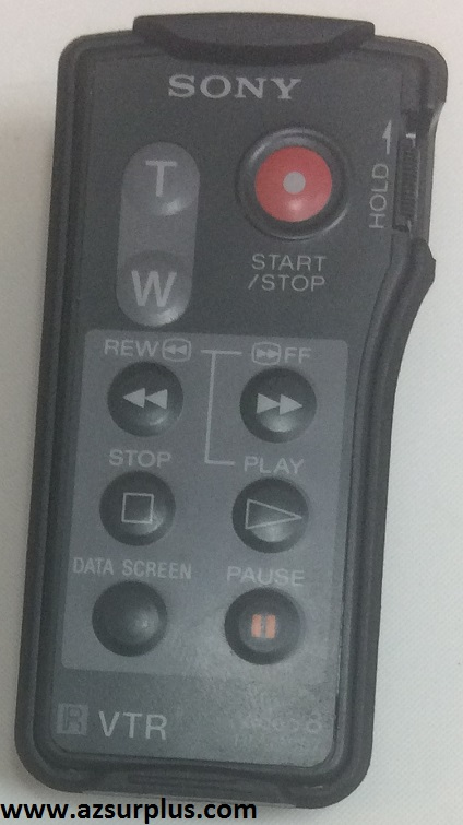 Sony Rmt-507 wireless VTR Video8 Remote Control for Camcorder Us
