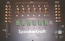 Speakercraft Eazy6 6-Zone Multi-Room Source Preamplifier Remote