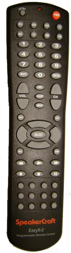 SPEAKERCRAFT EasyR-2 Infrrad Universal Remote Control