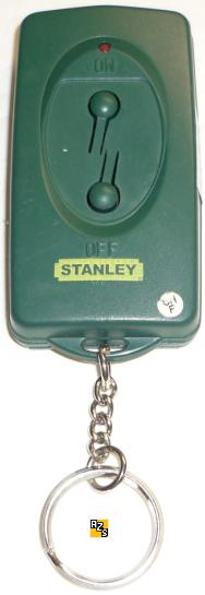 Stanley TR-001 PAGTR-001 2 Button ON OFF Red LED REMOTE Transmit