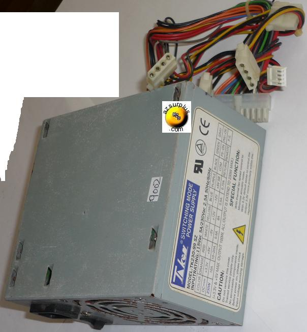 TAKON TK230-99 SZ SWITCHING POWER SUPPLY USED 230W +3.3V +5V +12