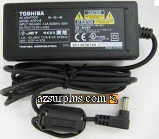 TOSHIBA ADPV16 AC DC ADAPTER 12V 3A POWER SUPPLY FOR DVD PLAYER