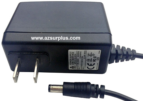 UMEC UP0181B-05PA AC ADAPTER +5VDC 2.5A USED -(+ 2x5.5mm STRAIGH