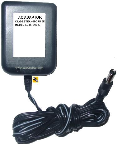 AD35-09003 AC ADAPTER 9VDC 300mA 22W Class 2 Transformer POWER S