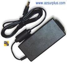 GENERIC AC ADAPTER 12VDC 5A Finecom -(+) 2.5x5.5mm Used SWITCHIN