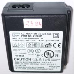 SKYNET 21D0315 AC ADAPTER 30V 1A USED LEXMARK Dell I