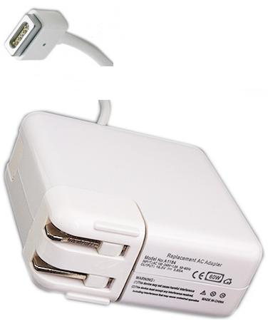 Finecom A1184 AC Adapter 16.5Vdc 3.65A 5Pin Magsafe Replacement