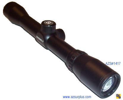 BUSHNELL 76-0433 4X 32 WATERPROOF HUNTING RIFLE SCOPE